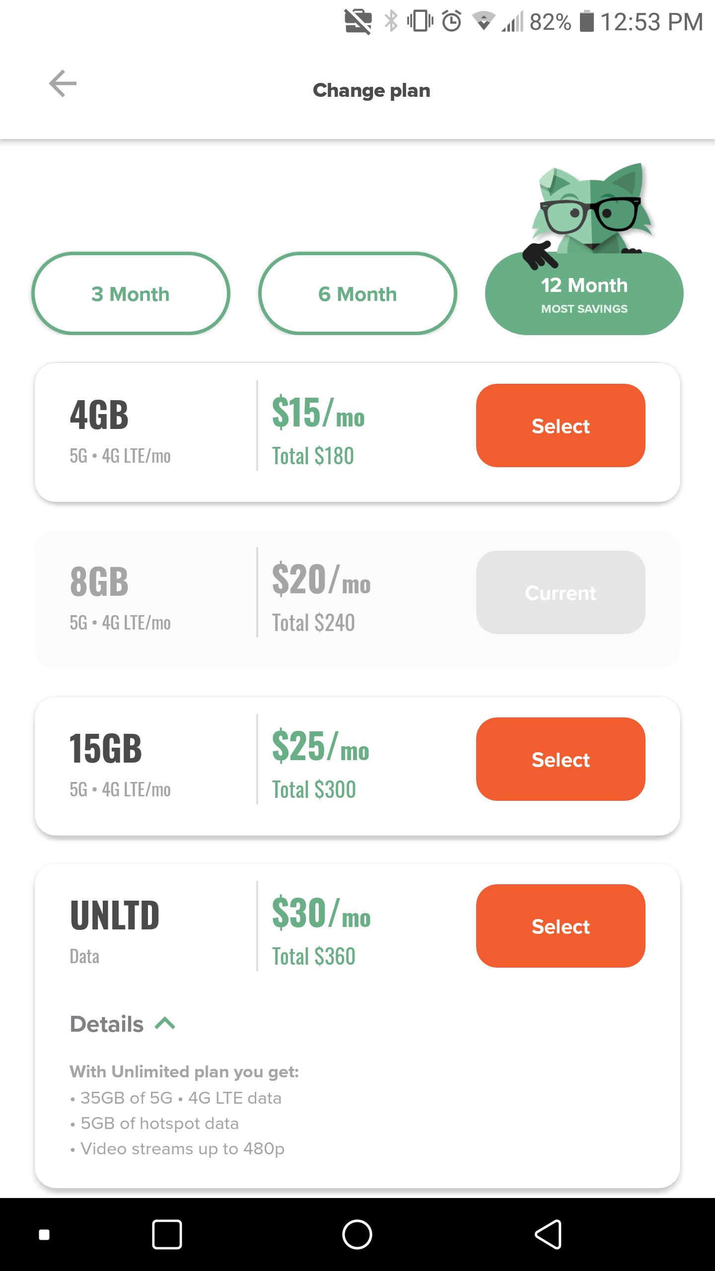 Mint Mobile Plan List